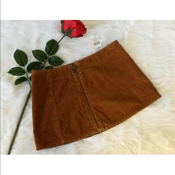 Blue Asphalt Dresses & Skirts - Blue Asphalt Sz 5 Juniors Mini Wrap Skirt Corduroy
